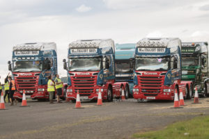 Truckfest in Edinburgh Schottland